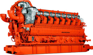 GE Waukesha gas engines 275GL+ series