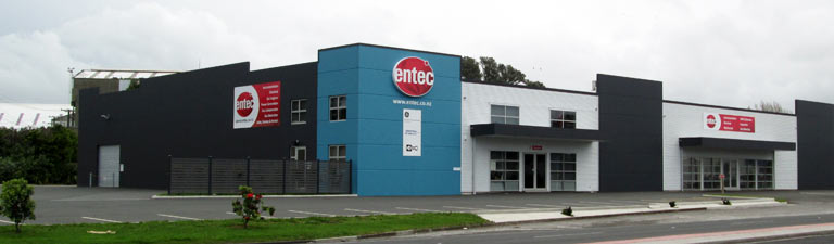Entec's new premises at 674 Devon Road, New Plymouth