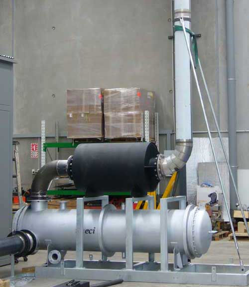 Exhaust heat recovery unit