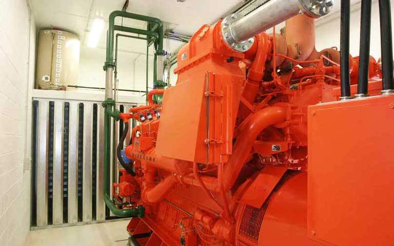 Horotiu Engine Room