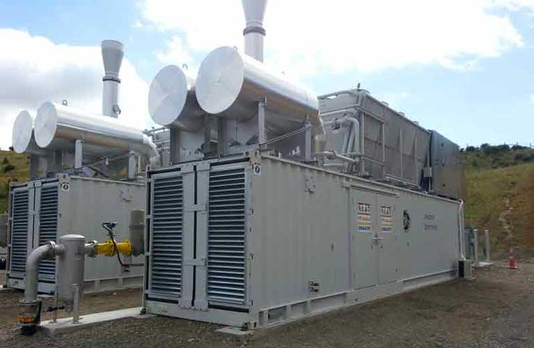 Power generation from landfill gas