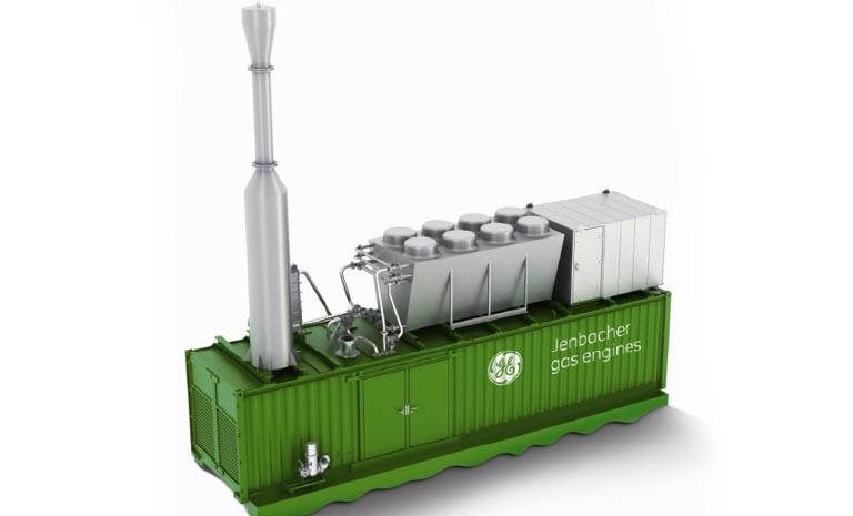 GE Jenbacher gas engine