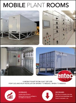 Mobile Plant Rooms